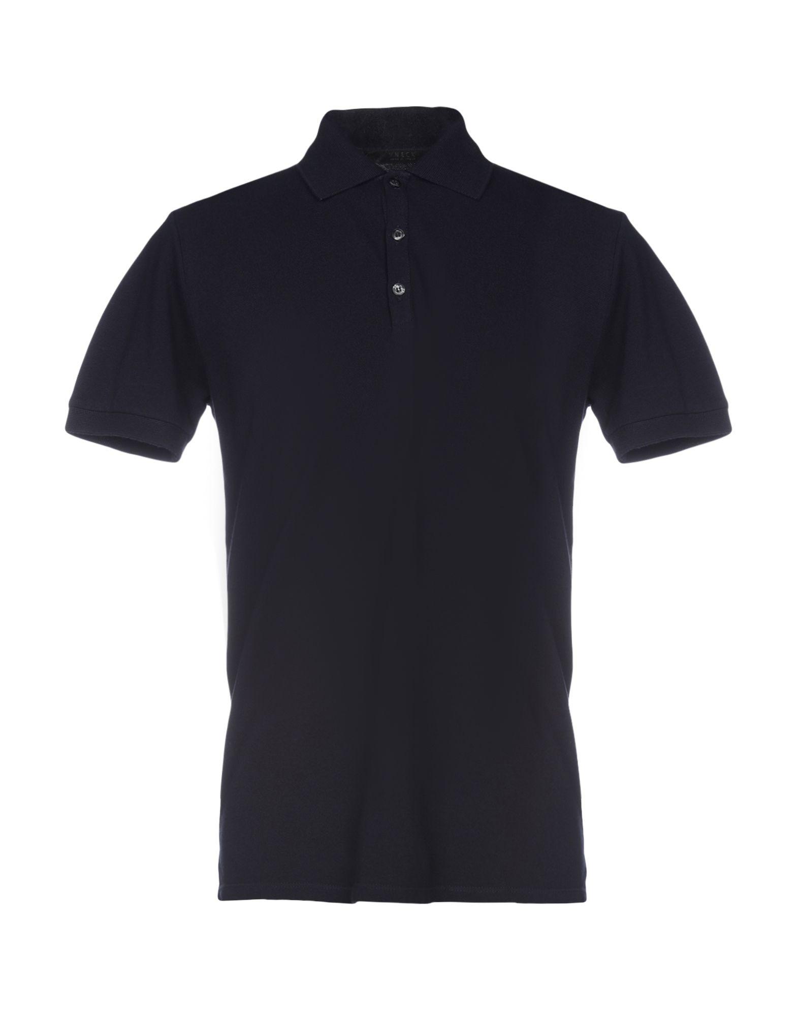 《セール開催中》VNECK メンズ ポロシャツ ダークブルー XS コットン 100%
