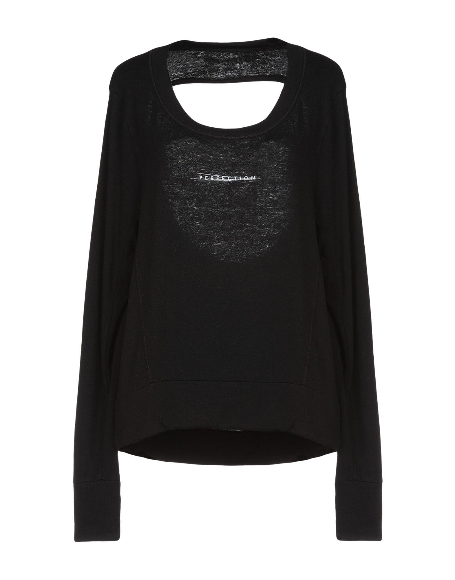《セール開催中》GOOD H YOUMAN レディース T シャツ ブラック M レーヨン 95% / ポリウレタン 5%