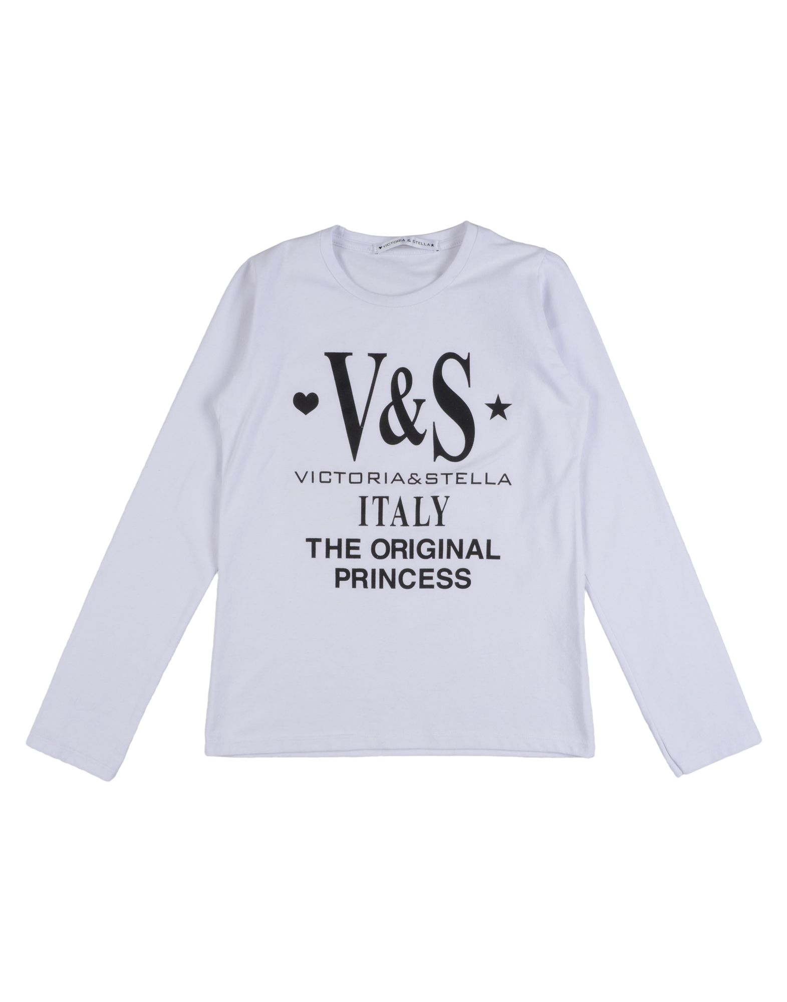 Victoria & Stella Kids' T-shirts In White