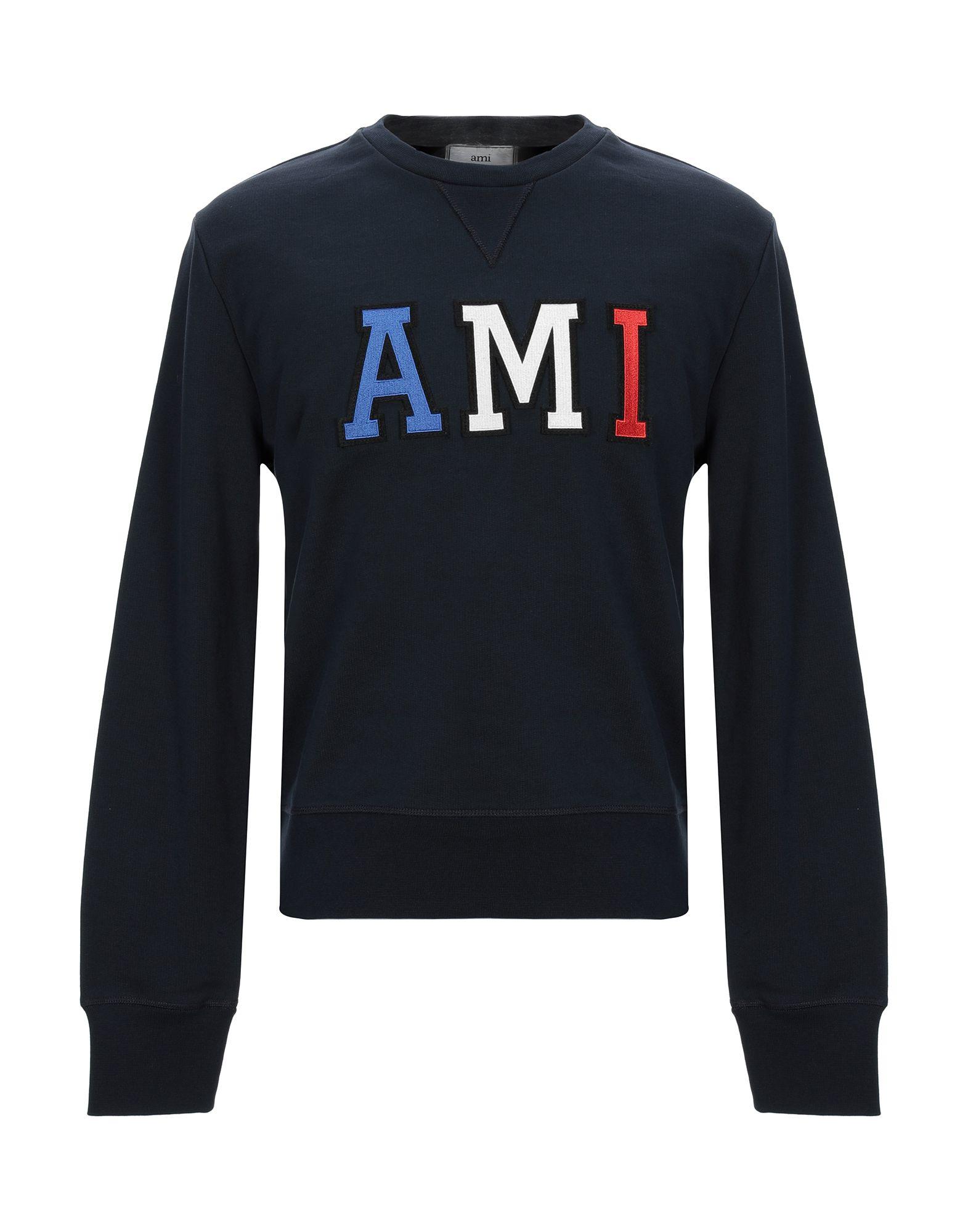 цены на AMI ALEXANDRE MATTIUSSI Толстовка  в интернет-магазинах