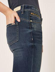 ARMANI EXCHANGE SUPER-SKINNY CROPPED INDIGO ZIPPER JEAN Skinny jeans [*** pickupInStoreShipping_info ***] b