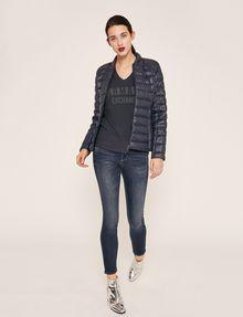 ARMANI EXCHANGE SUPER-SKINNY CROPPED INDIGO ZIPPER JEAN Skinny jeans [*** pickupInStoreShipping_info ***] d