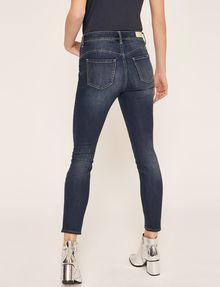 ARMANI EXCHANGE SUPER-SKINNY CROPPED INDIGO ZIPPER JEAN Skinny jeans [*** pickupInStoreShipping_info ***] e