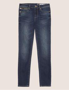 ARMANI EXCHANGE SUPER-SKINNY CROPPED INDIGO ZIPPER JEAN Skinny jeans [*** pickupInStoreShipping_info ***] r