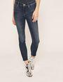ARMANI EXCHANGE SUPER-SKINNY CROPPED INDIGO ZIPPER JEAN Skinny jeans [*** pickupInStoreShipping_info ***] f