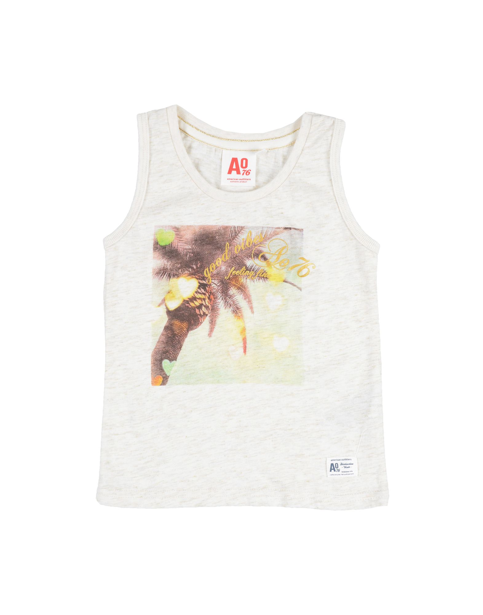 American Outfitters Kids' T-shirts In White