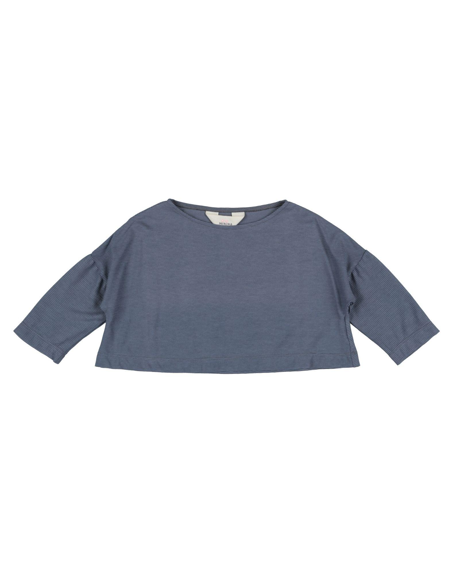Minina Kids' T-shirts In Blue