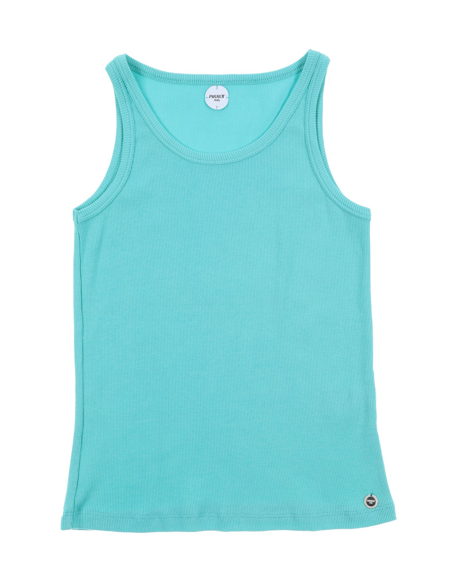 Parrot Kids' Tank Tops In Turquoise