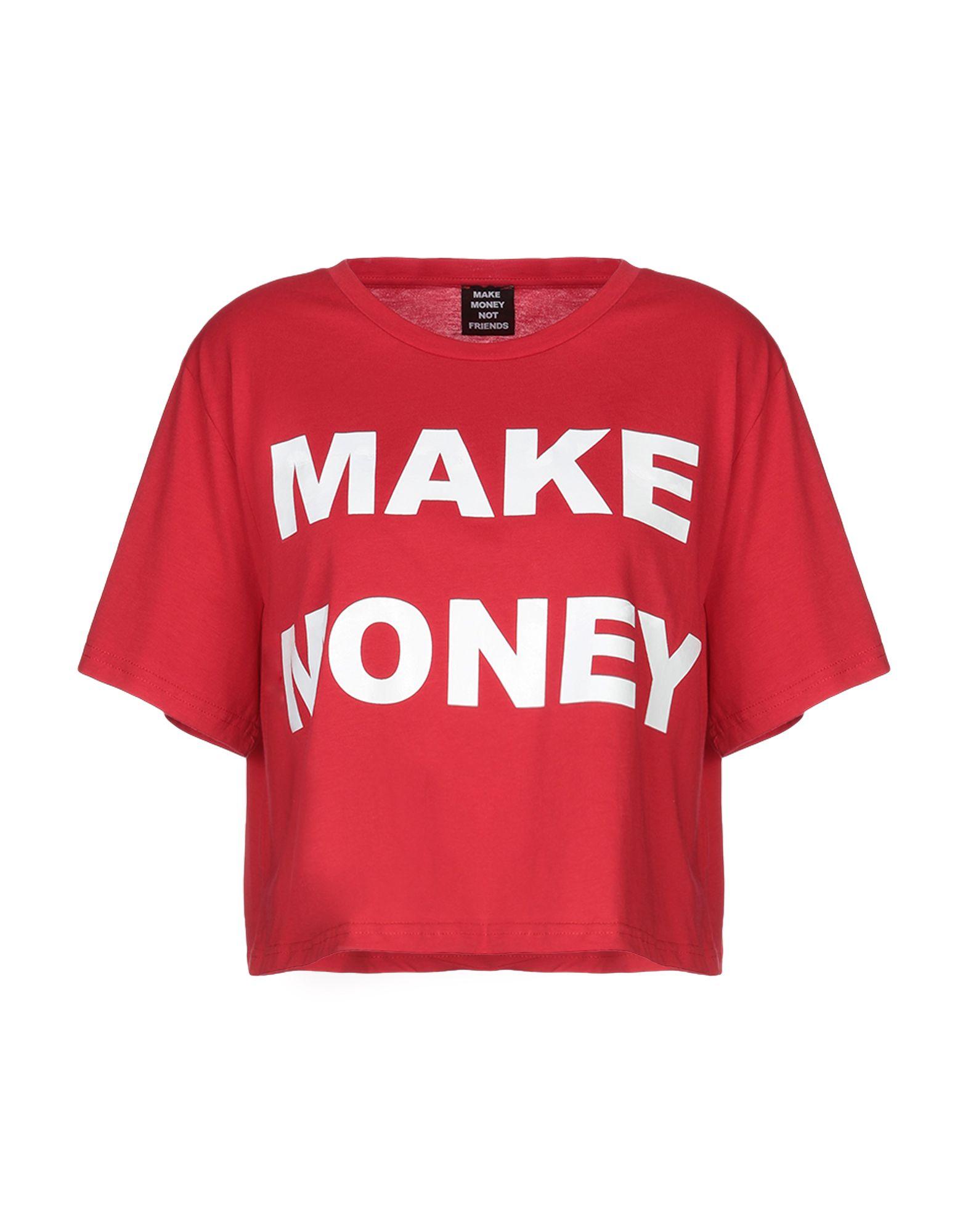 MAKE MONEY NOT FRIENDS Футболка danjue genuine leather men wallets long coin purses big capacity card holder cowhide day clutch phone money bag
