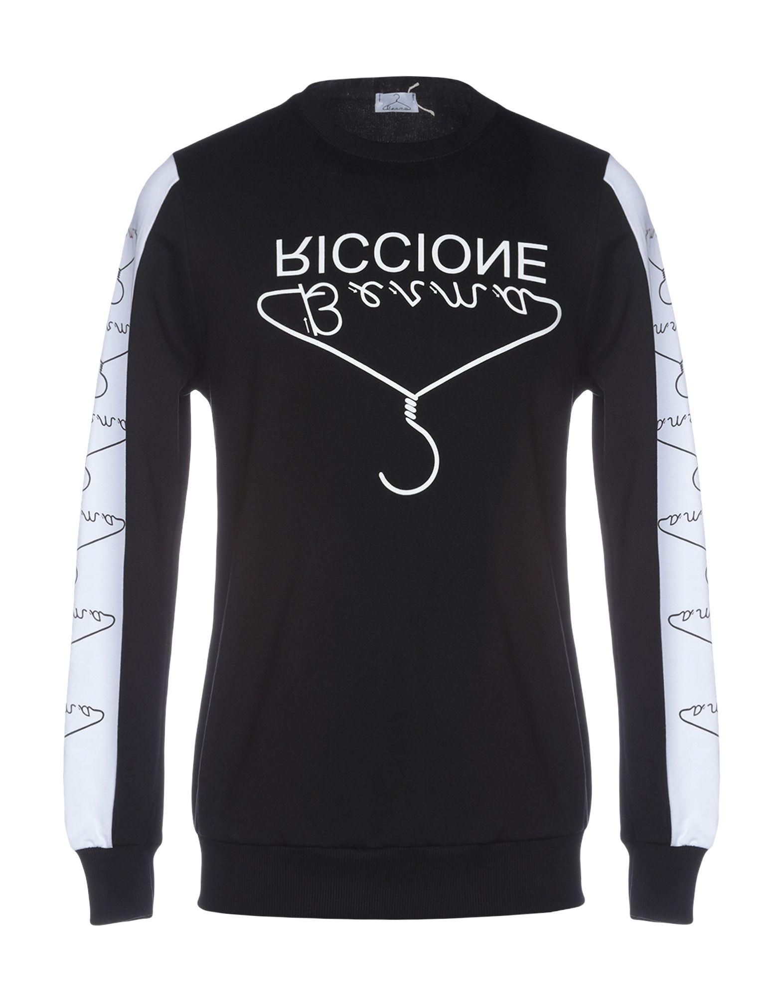 《セール開催中》BERNA メンズ スウェットシャツ ブラック L コットン 100%
