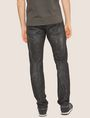 ARMANI EXCHANGE J13 SLIM-FIT BLACK DESTROYED JEAN SLIM FIT JEANS [*** pickupInStoreShippingNotGuaranteed_info ***] e