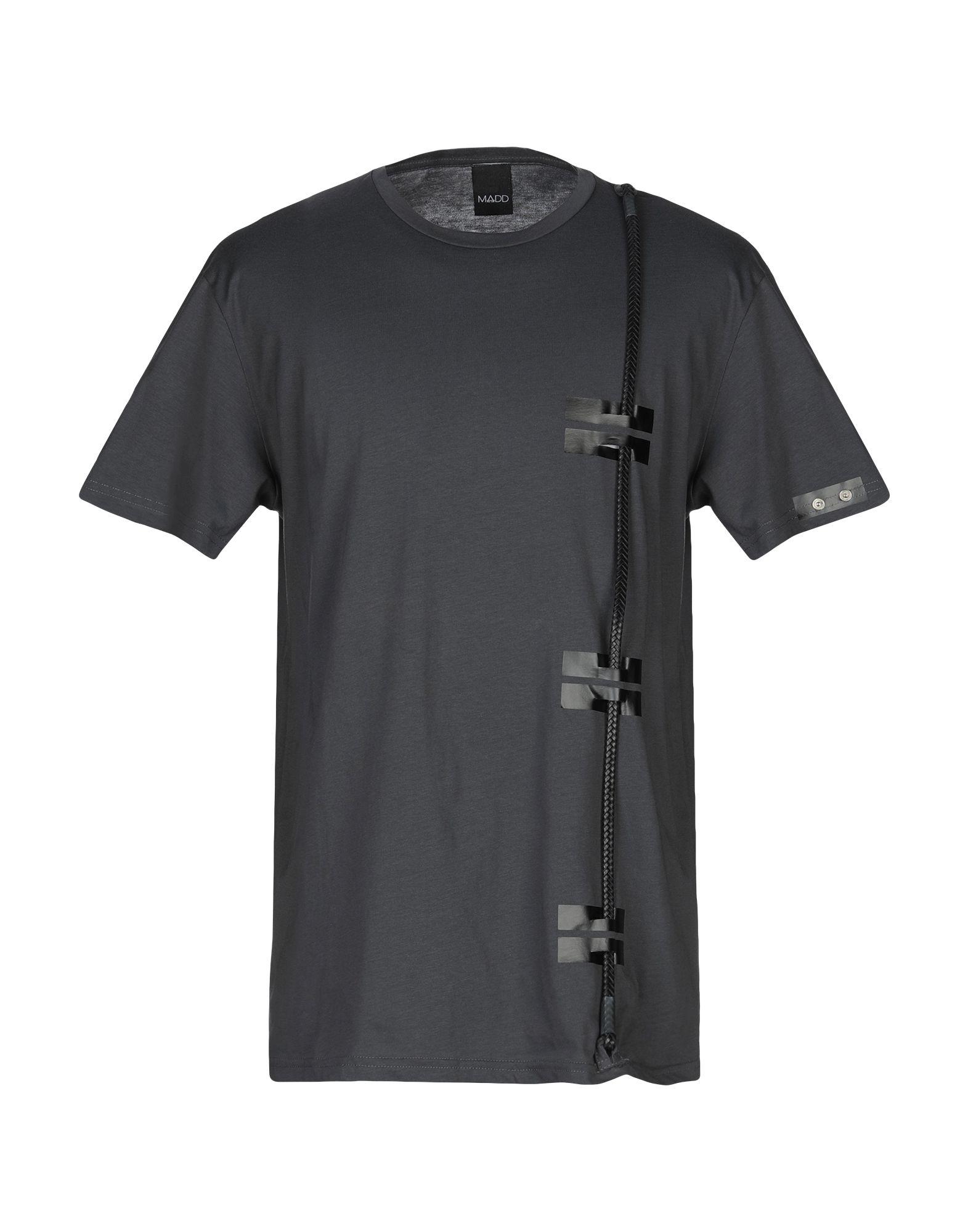 《送料無料》MADD メンズ T シャツ 鉛色 XL コットン 100%