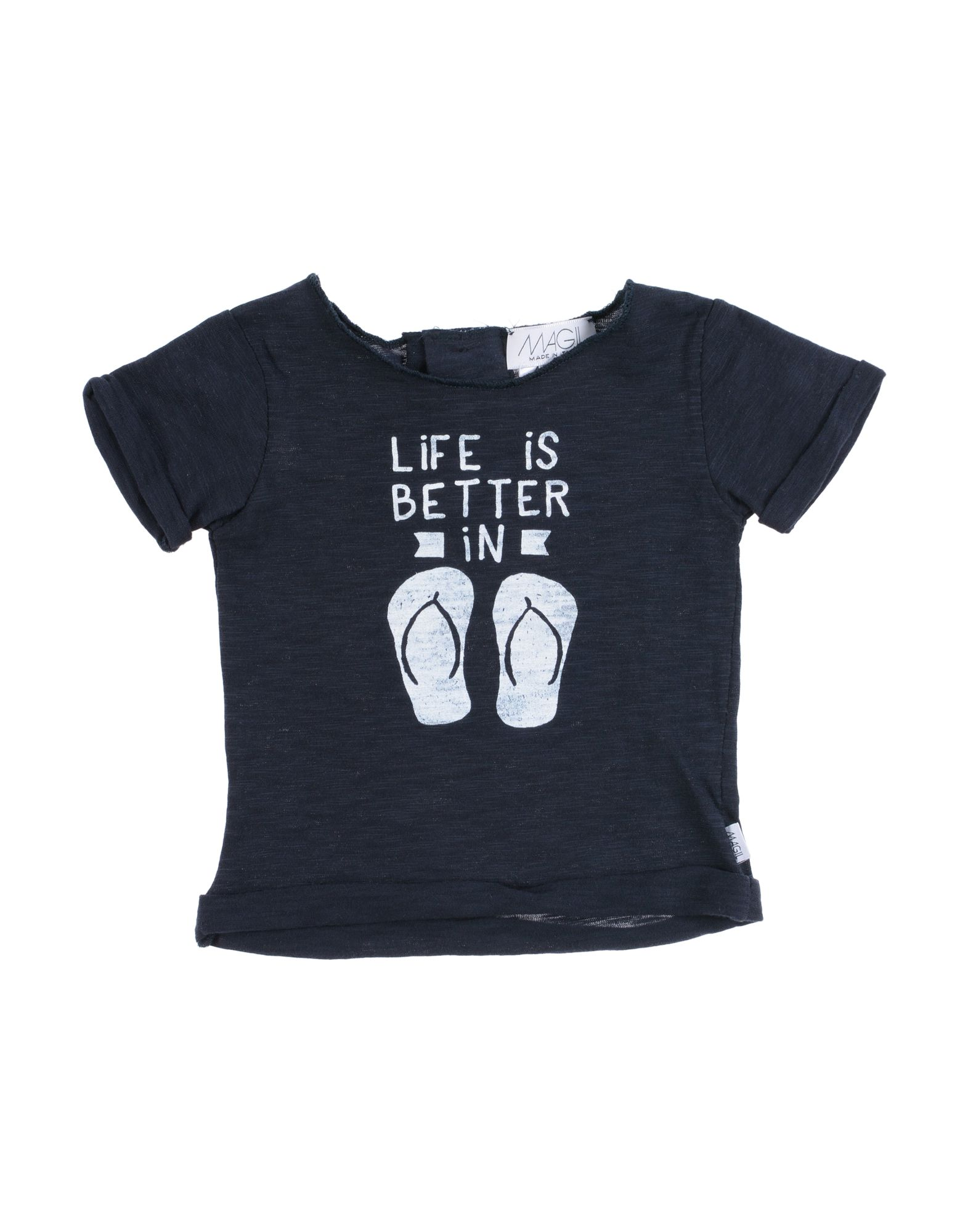 Magil Kids' T-shirts In Black
