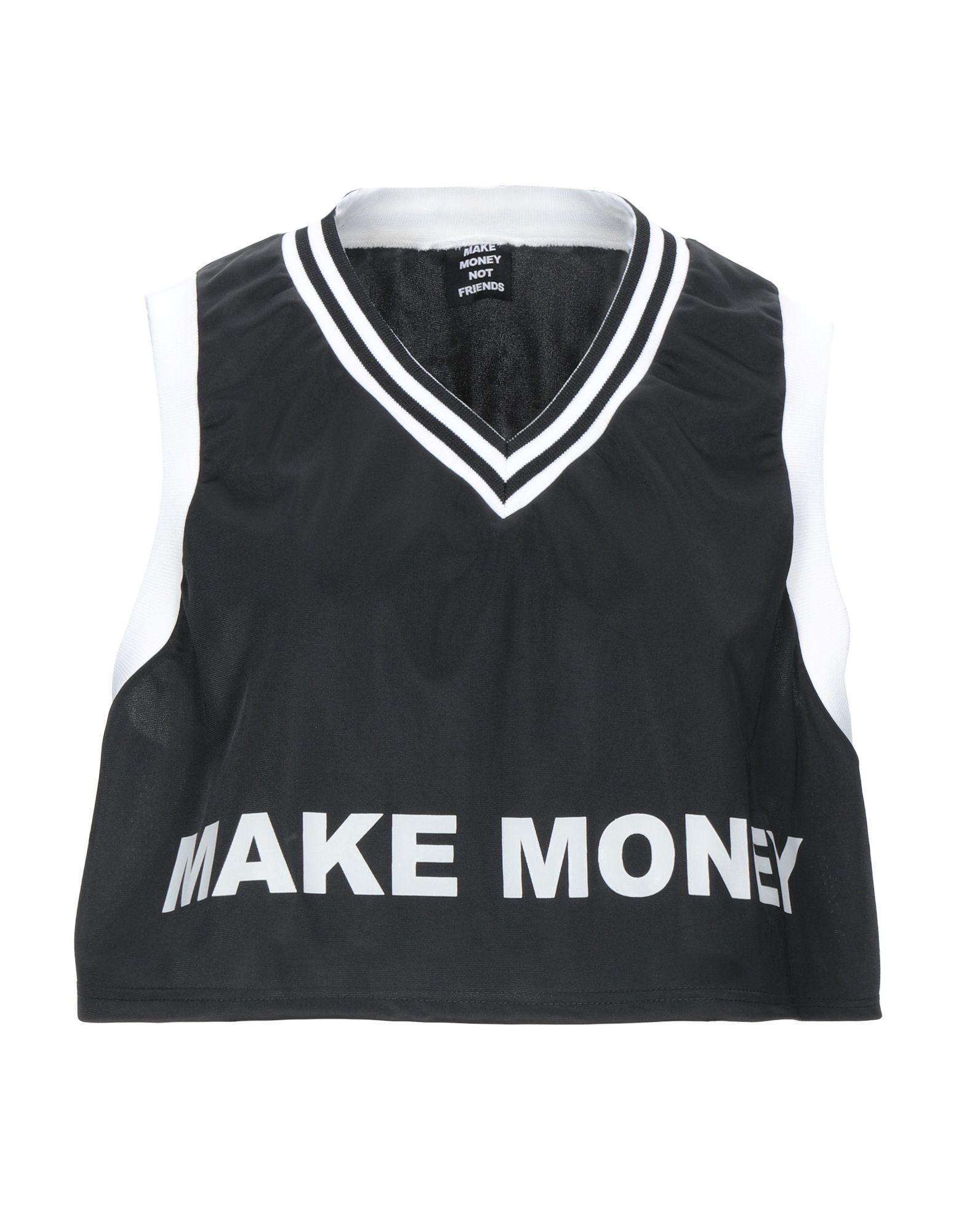 MAKE MONEY NOT FRIENDS Топ без рукавов make money not friends pубашка