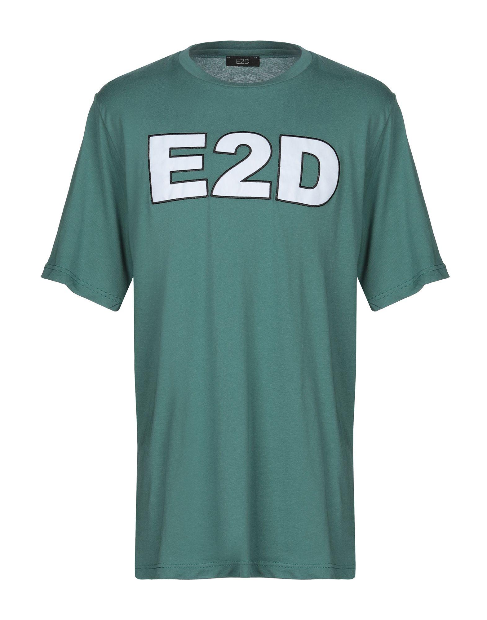 《送料無料》EASY2DRESS メンズ T シャツ グリーン S コットン 100%