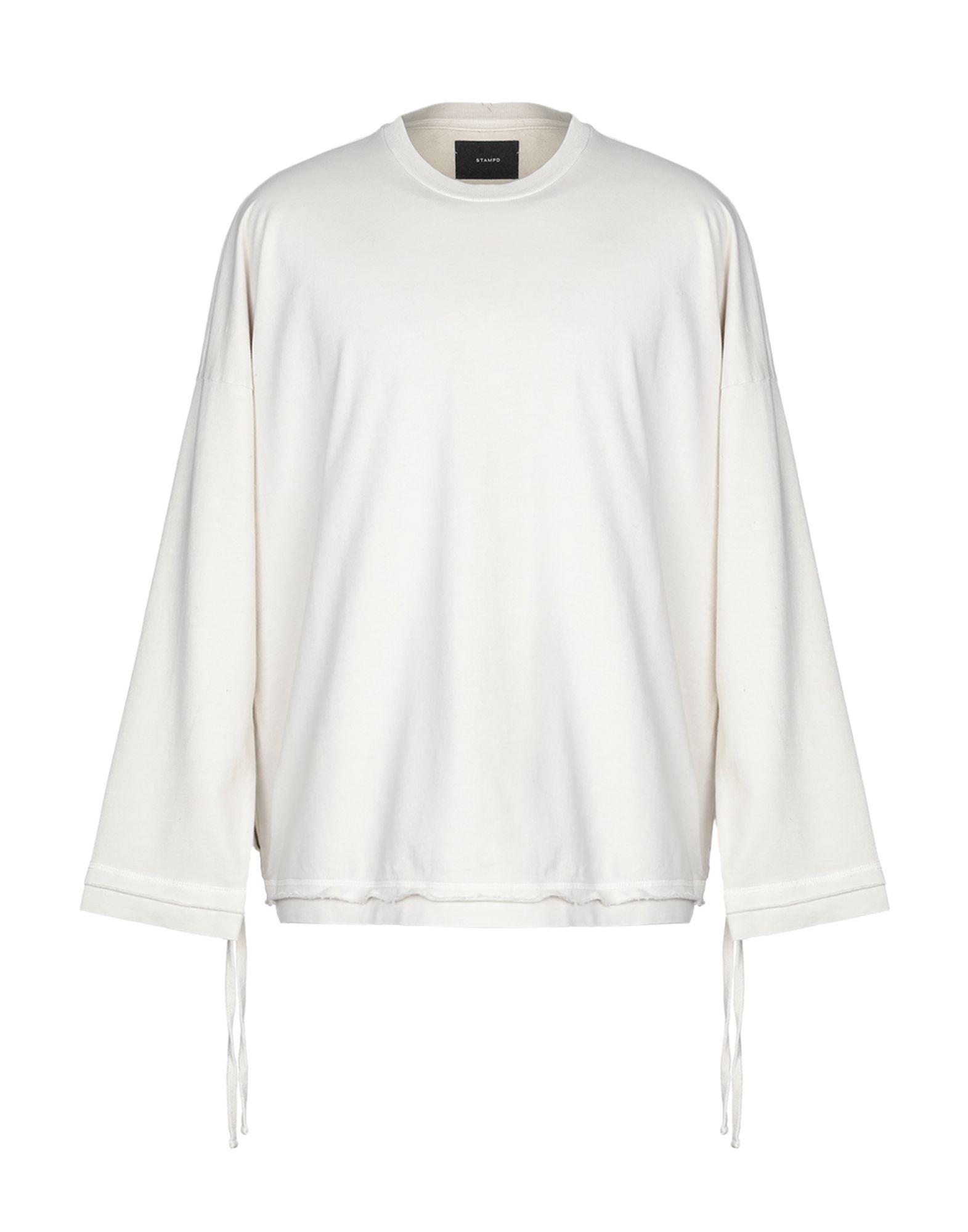 《送料無料》STAMPD メンズ スウェットシャツ ベージュ M コットン 100%