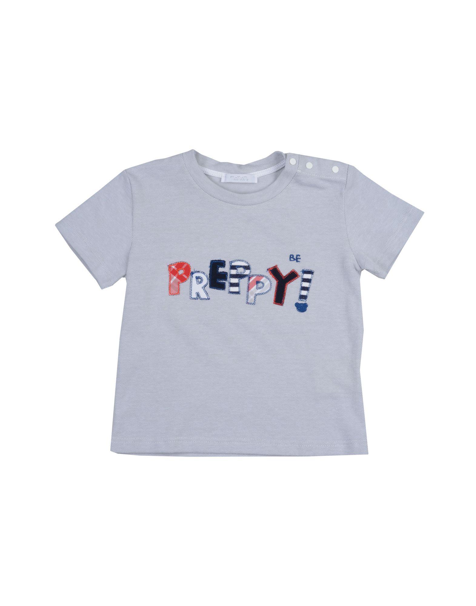 Nanán Kids' T-shirts In Gray
