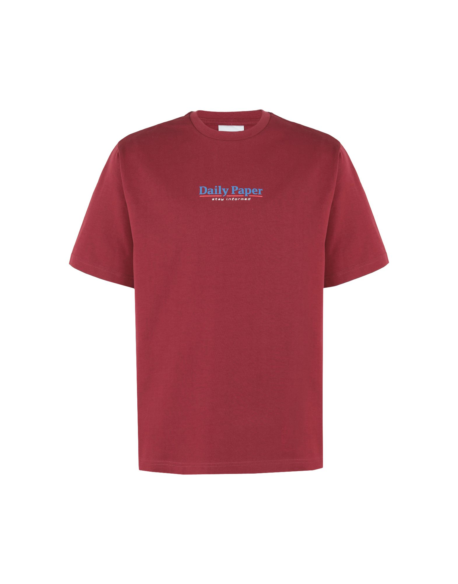 DAILY PAPER T-Shirts in Maroon