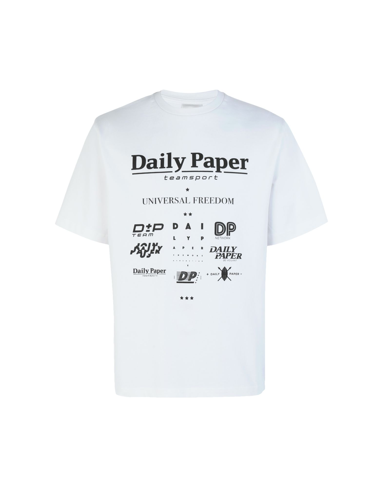 DAILY PAPER T-Shirts in White