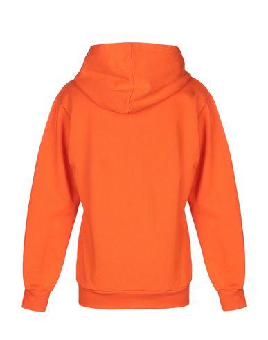 Фото 2 - Мужскую толстовку BAD SPIRIT оранжевого цвета