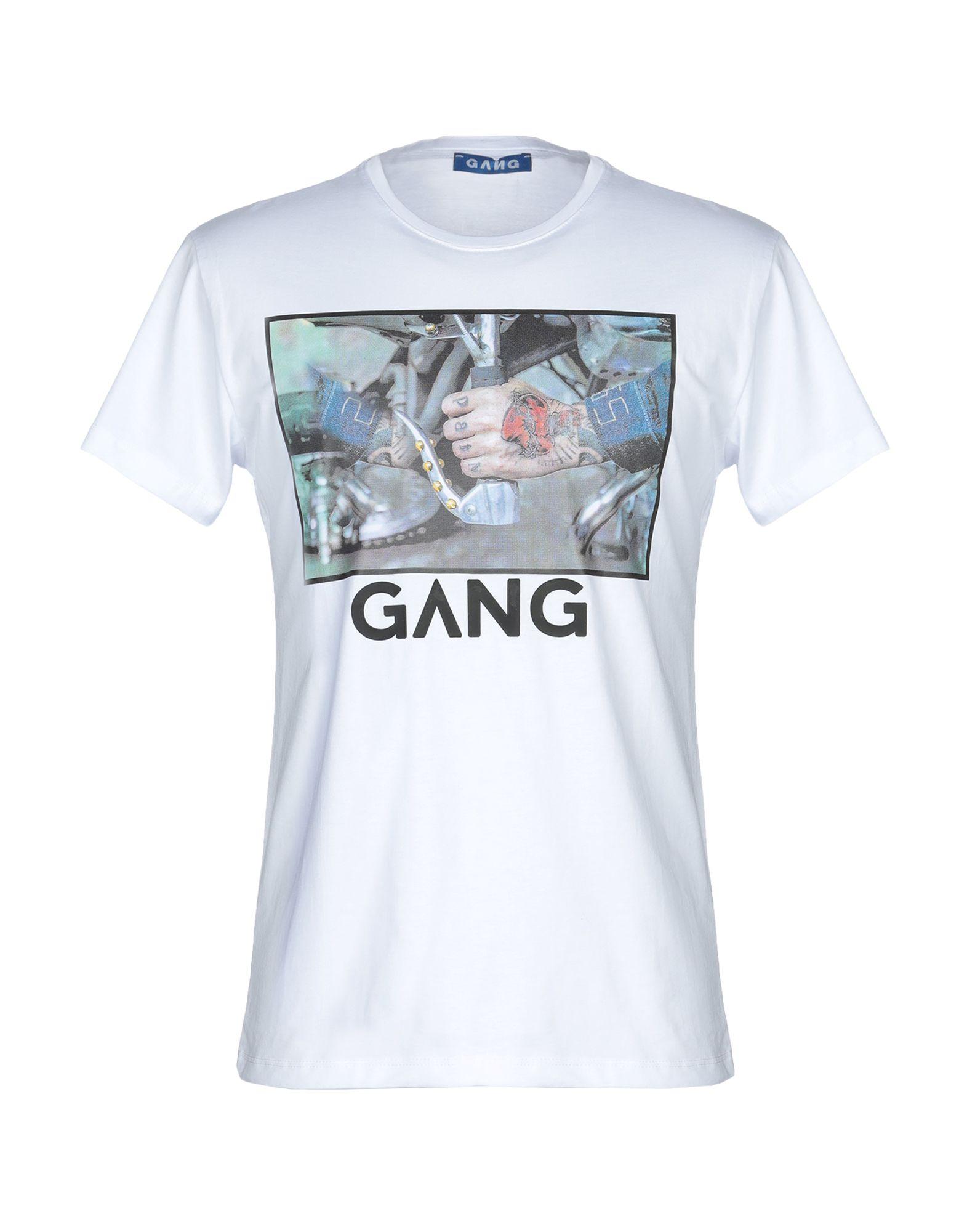 GANG Футболка худи print bar skull gang