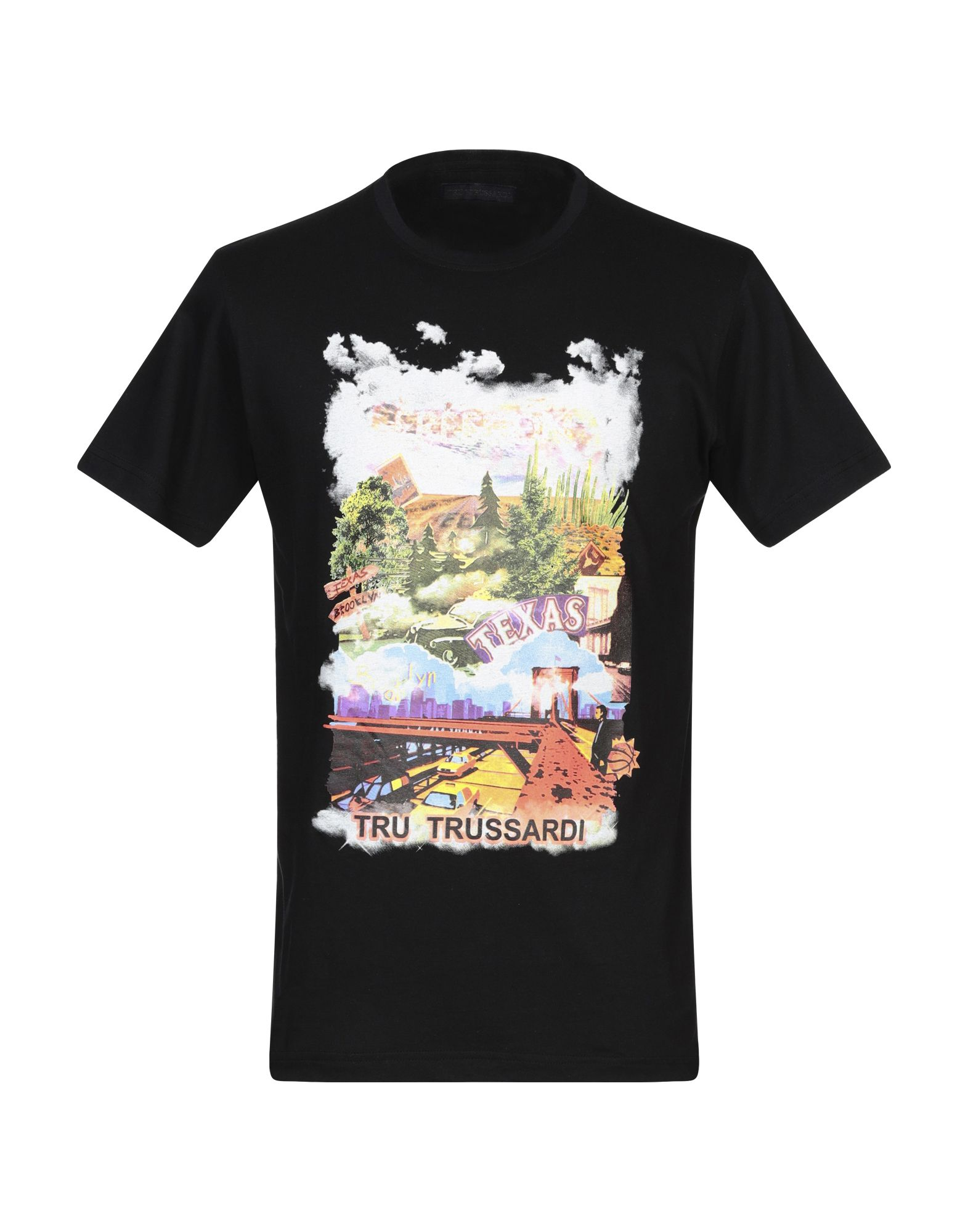 TRU TRUSSARDI Футболка футболка trussardi collection trussardi collection tr031emfalz0