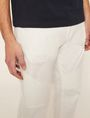 ARMANI EXCHANGE MOTO-FIT WHITE JEAN WITH DISTRESSING Skinny jeans [*** pickupInStoreShippingNotGuaranteed_info ***] b