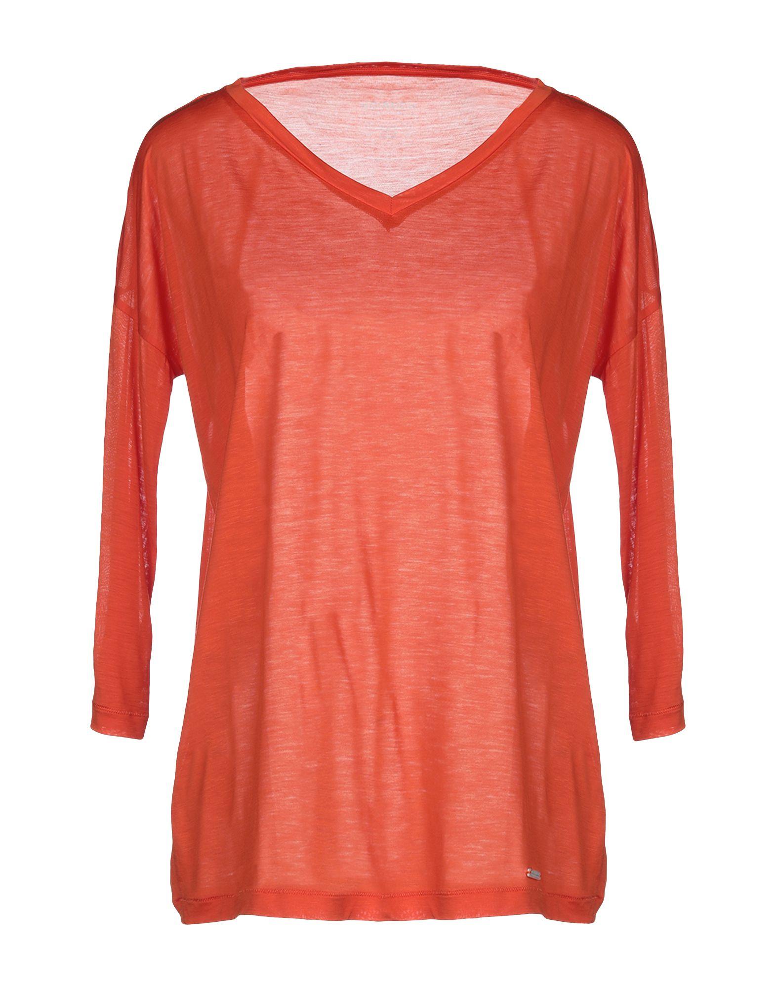 《送料無料》WOOLRICH レディース T シャツ オレンジ XS テンセル 100%