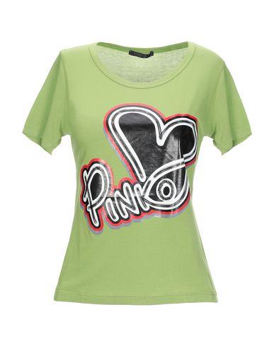 Купить Женскую футболку  зеленого цвета