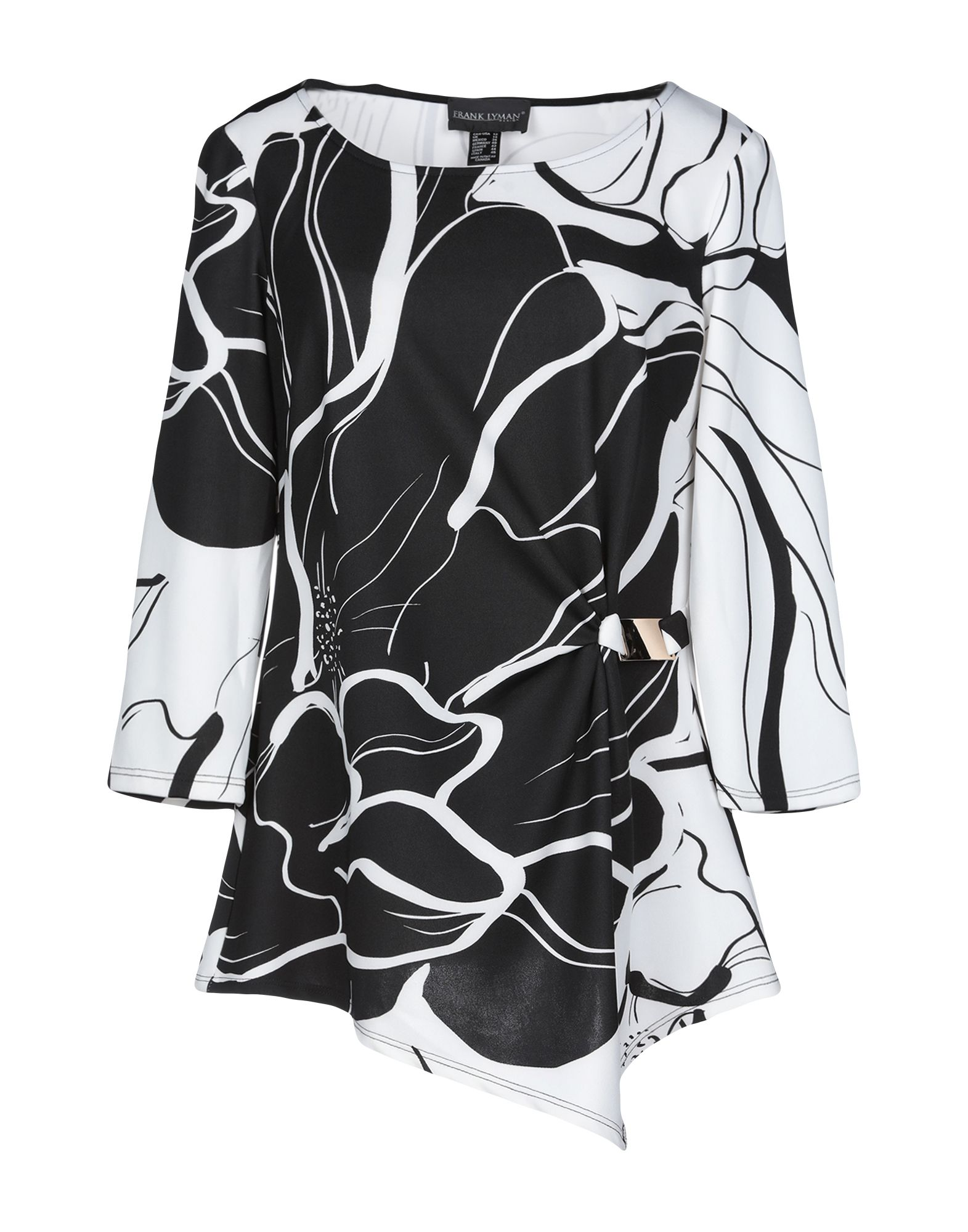 FRANK LYMAN Футболка блузка frank lyman design блузы с бантом