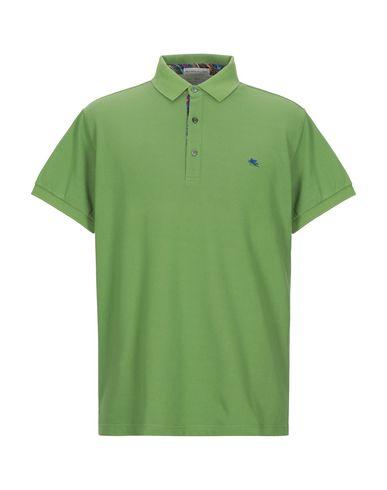 Купить Мужское поло  зеленого цвета