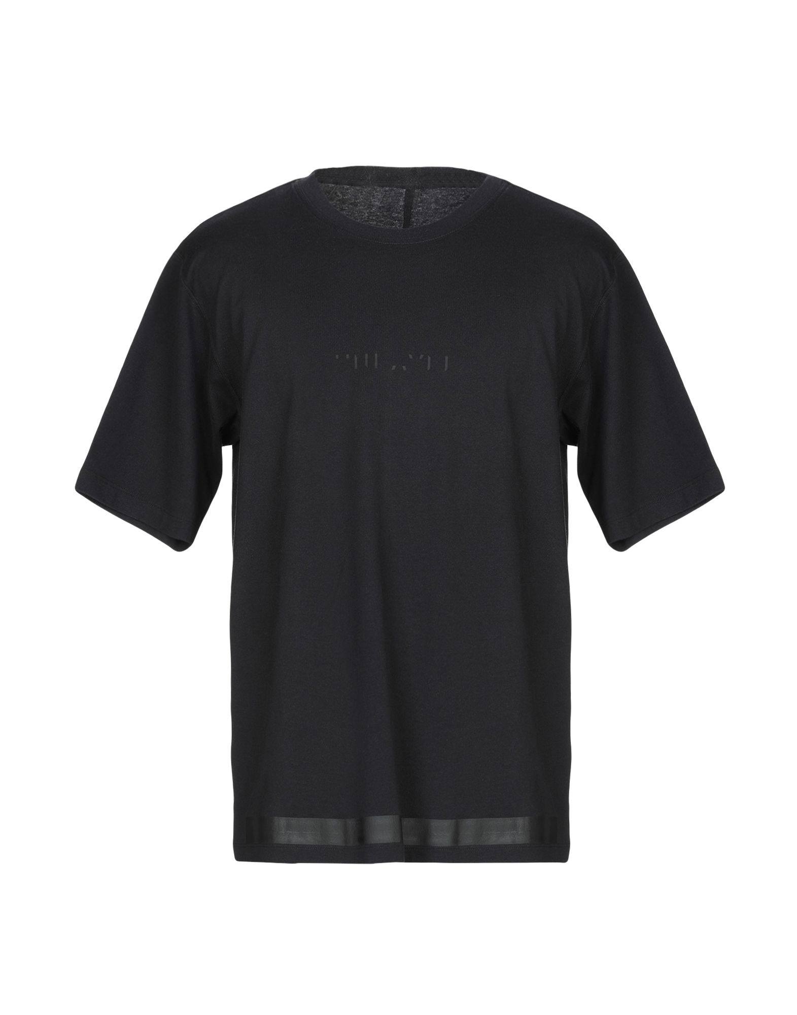 《期間限定セール開催中!》BEN TAVERNITI? UNRAVEL PROJECT メンズ T シャツ ブラック S コットン 100% / ポリエステル