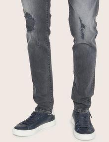 ARMANI EXCHANGE J14 SKINNY THREADBARE GREY JEAN Skinny jeans [*** pickupInStoreShippingNotGuaranteed_info ***] b