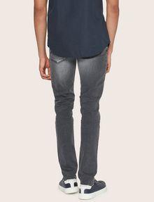 ARMANI EXCHANGE J14 SKINNY THREADBARE GREY JEAN Skinny jeans [*** pickupInStoreShippingNotGuaranteed_info ***] e