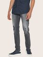 ARMANI EXCHANGE J14 SKINNY THREADBARE GREY JEAN Skinny jeans [*** pickupInStoreShippingNotGuaranteed_info ***] f