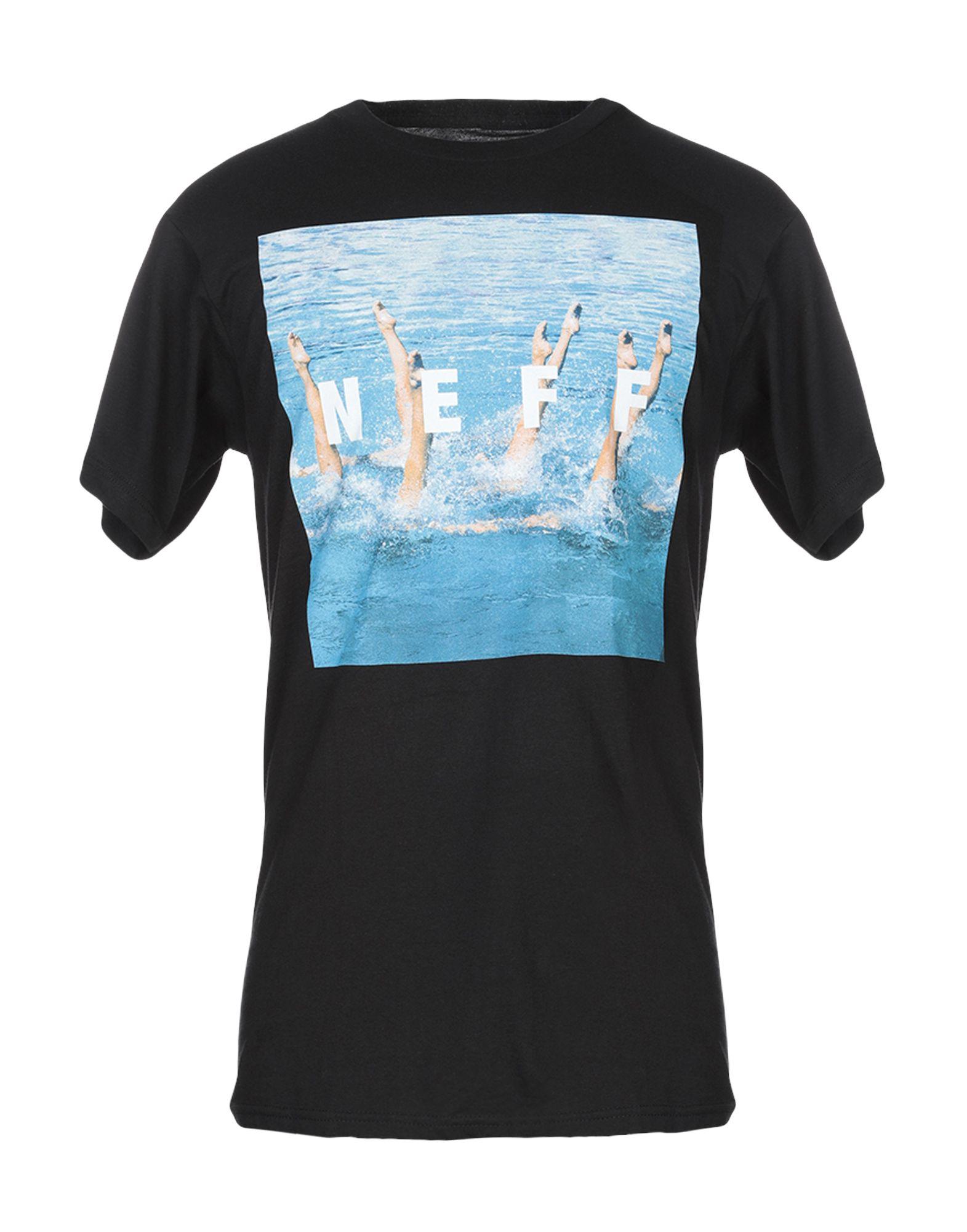 NEFF Футболка футболка neff diamond summer beaches black