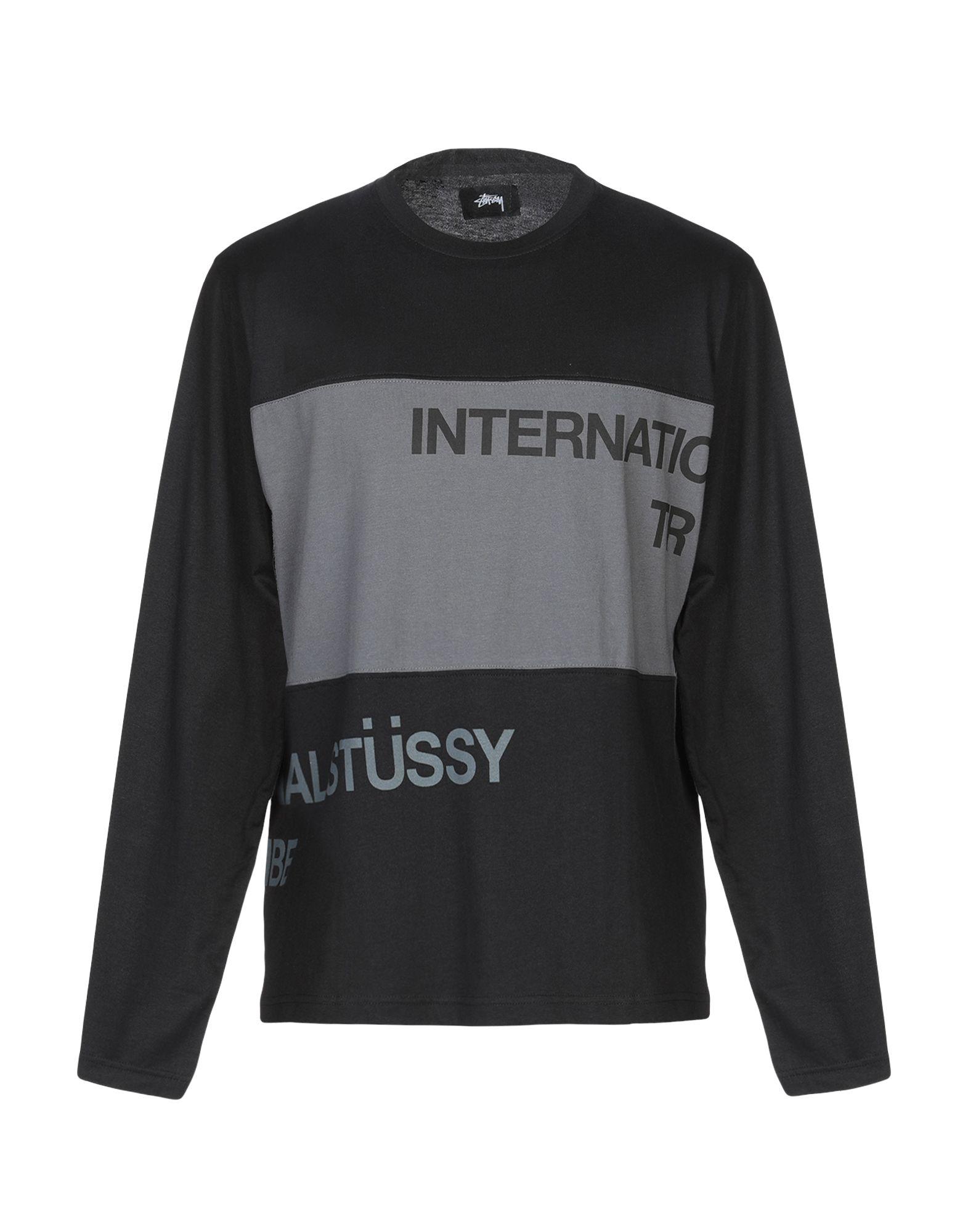 《送料無料》STUSSY メンズ T シャツ ブラック M コットン 100%