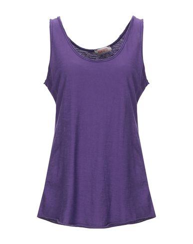 Купить Женскую майку  фиолетового цвета