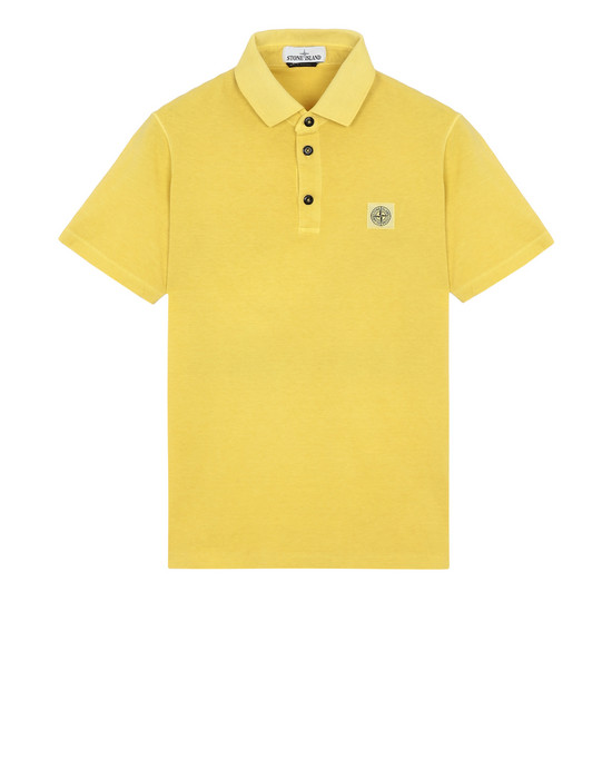 STONE ISLAND Polo shirt 21757 'FISSATO' DYE TREATMENT