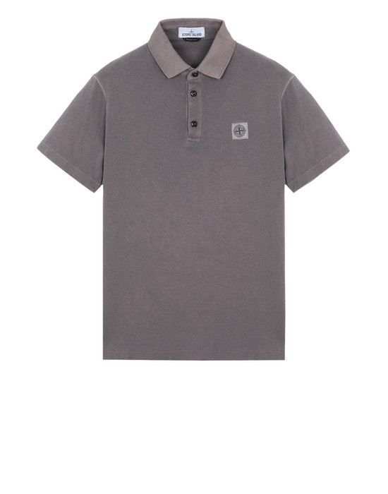 STONE ISLAND Polo shirt 21757 'FISSATO' DYE TREATMENT