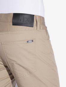 ARMANI EXCHANGE CLASSIC SLIM-FIT TWILL PANTS Slim fit JEANS [*** pickupInStoreShippingNotGuaranteed_info ***] b