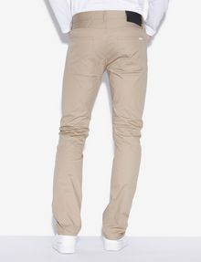 ARMANI EXCHANGE CLASSIC SLIM-FIT TWILL PANTS Slim fit JEANS [*** pickupInStoreShippingNotGuaranteed_info ***] e