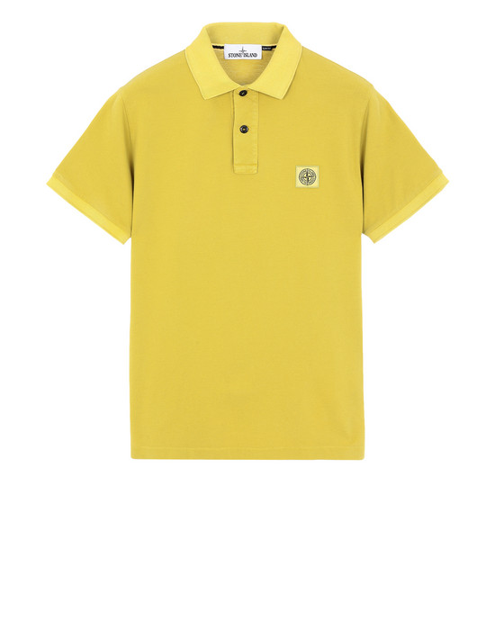 STONE ISLAND Polo shirt 22S67 PIGMENT DYE TREATMENT
