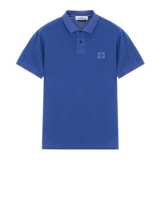 Polo 衫 22S67 PIGMENT DYE TREATMENT STONE ISLAND - 0