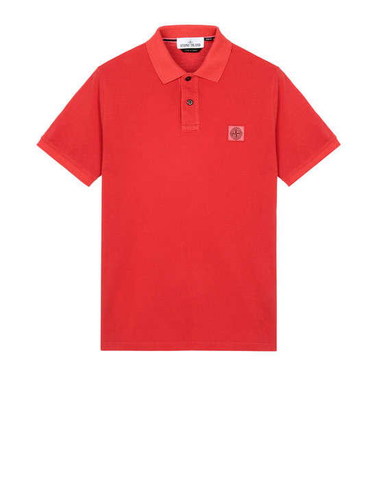 STONE ISLAND Polo shirt 22S67 PIGMENT DYE TREATMENT