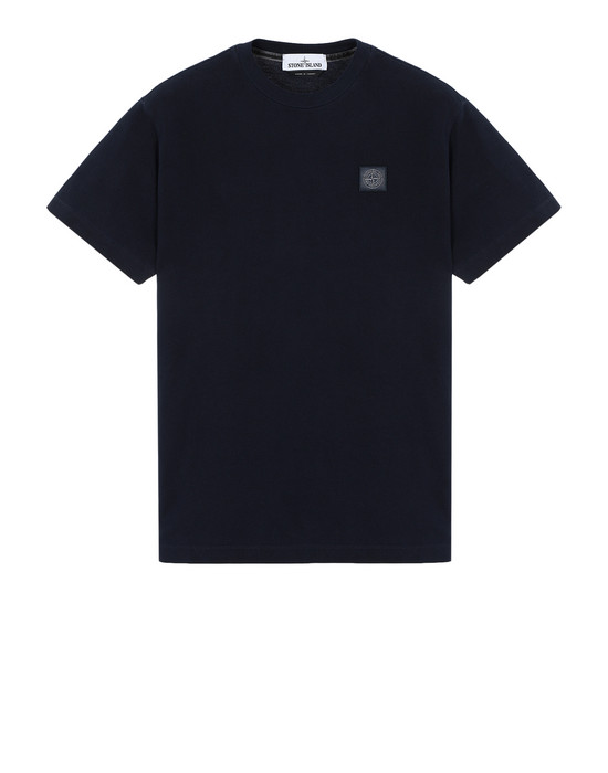 STONE ISLAND Short sleeve t-shirt 22267 PIGMENT DYE TREATMENT