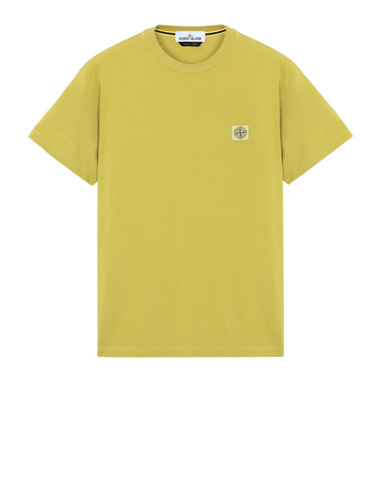 Short sleeve t-shirt 22267 PIGMENT DYE TREATMENT STONE ISLAND - 0