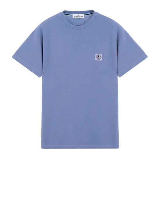 STONE ISLAND Short sleeve t-shirt 22267 PIGMENT DYE TREATMENT