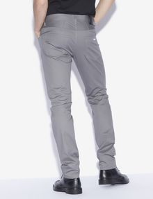 ARMANI EXCHANGE CLASSIC SLIM-FIT TWILL PANTS Slim fit JEANS [*** pickupInStoreShippingNotGuaranteed_info ***] e