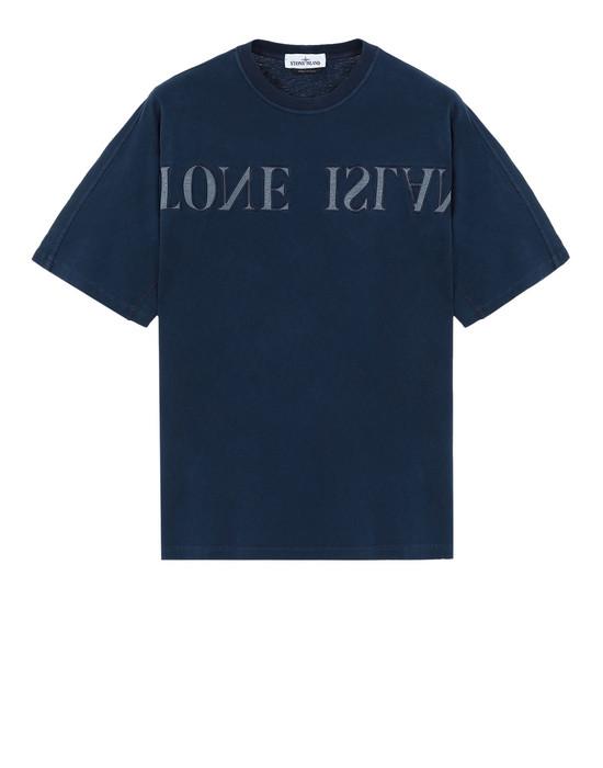 STONE ISLAND Short sleeve t-shirt 21856 'OLD' DYE TREATMENT